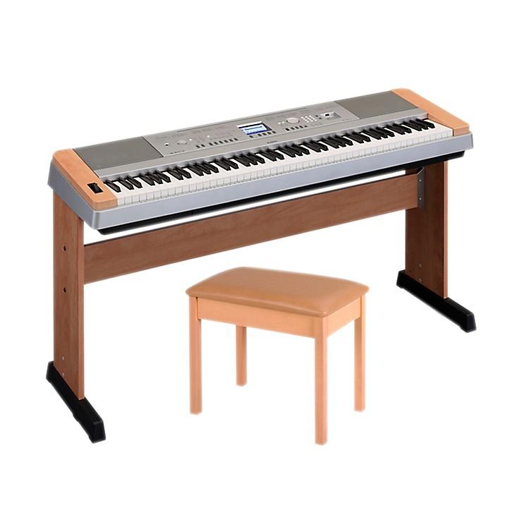 YamahaDGX-640 88-Key Digital Piano with WB2 Padded Bench