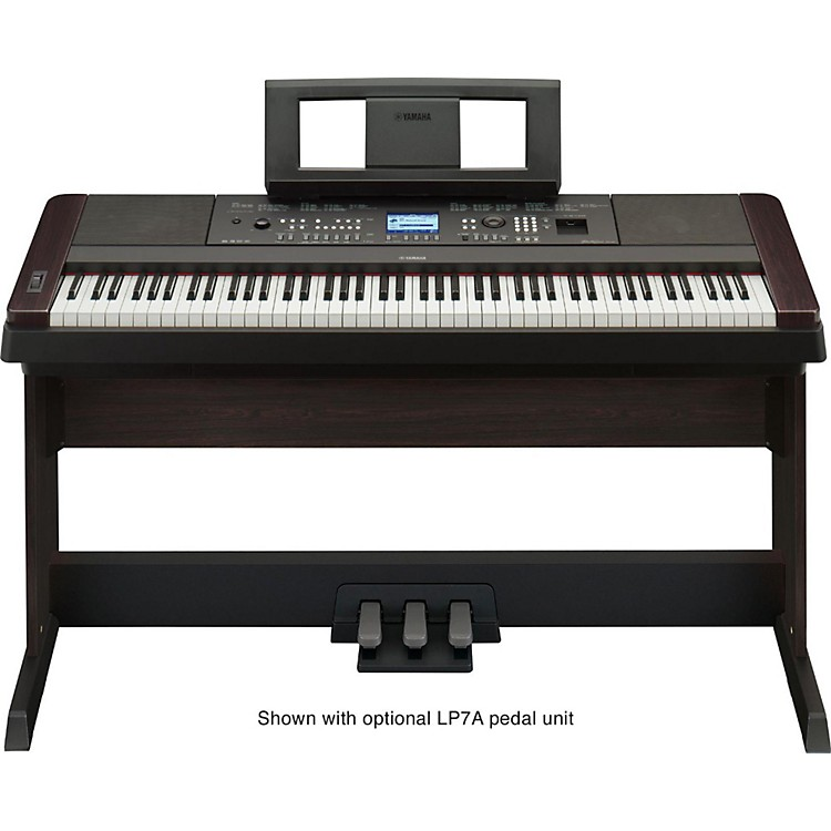 Yamaha DGX-650 88-Key Graded Hammer Action Digital Piano Black