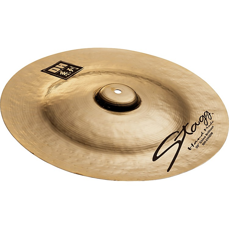 StaggDH Dual-Hammered Brilliant China Cymbal18