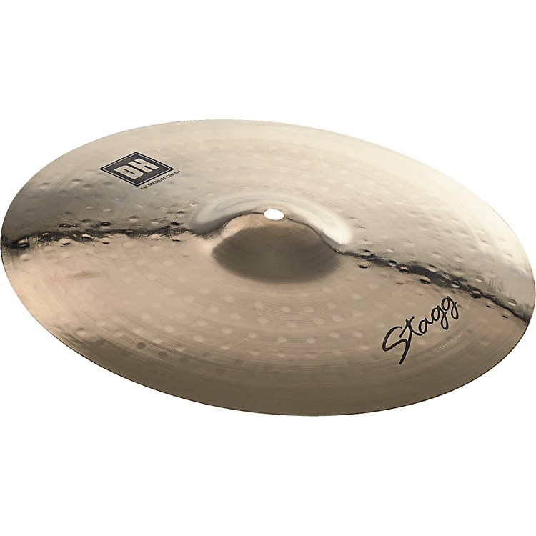 StaggDH Dual-Hammered Brilliant Medium Crash Cymbal
