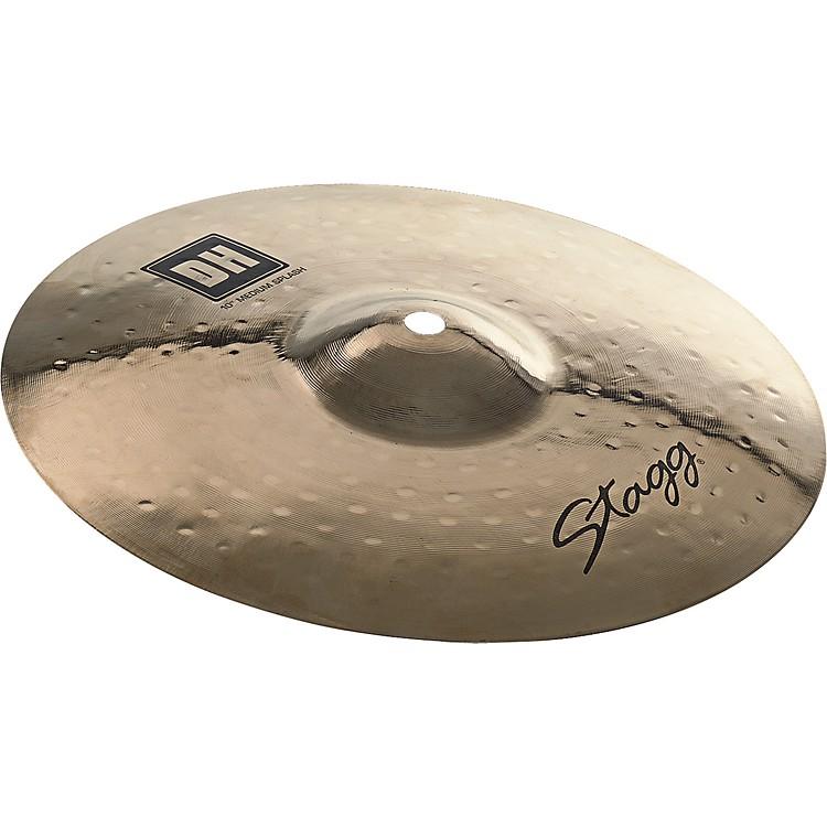 StaggDH Dual-Hammered Brilliant Medium Splash Cymbal