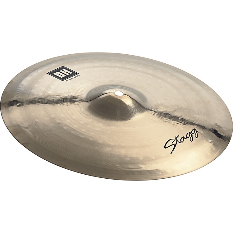 Stagg DH Dual-Hammered Brilliant Rock Crash Cymbal 18 in.