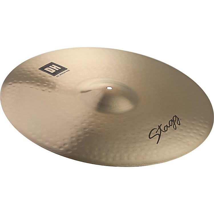 Stagg DH Dual-Hammered Brilliant Rock Ride Cymbal 21 in.