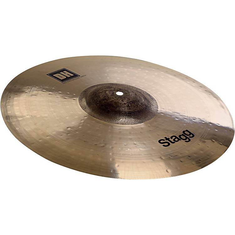 Stagg DH Dual-Hammered Exo Medium Thin Crash Cymbal 18 in.