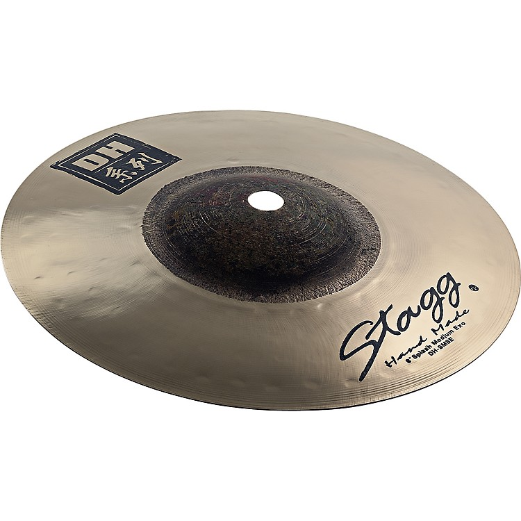 StaggDH Dual-Hammered Exo Medum Splash Cymbal8 in.