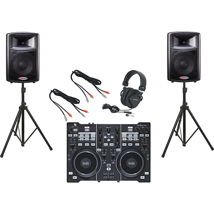Hercules DJ 4Set / Harbinger APS12 DJ Package
