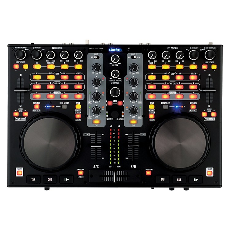 StantonDJC.4 Virtual DJ Digital Workstation