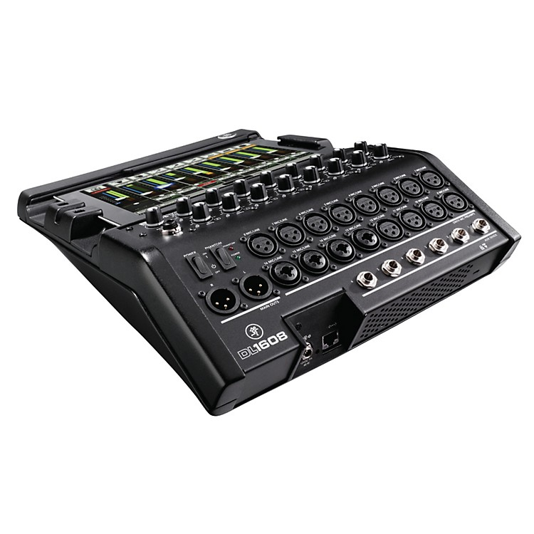 Mackie DL1608 16-Channel Digital Live Sound Mixer with iPad Controler