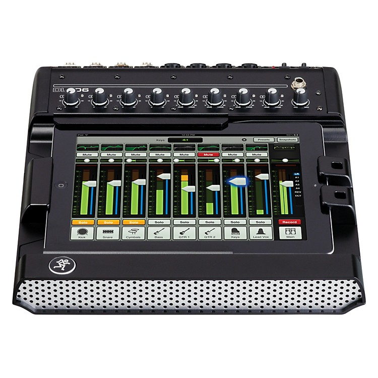 MackieDL806L 8-channel Digital Live Sound Mixer w/ iPad Control (Lightning)