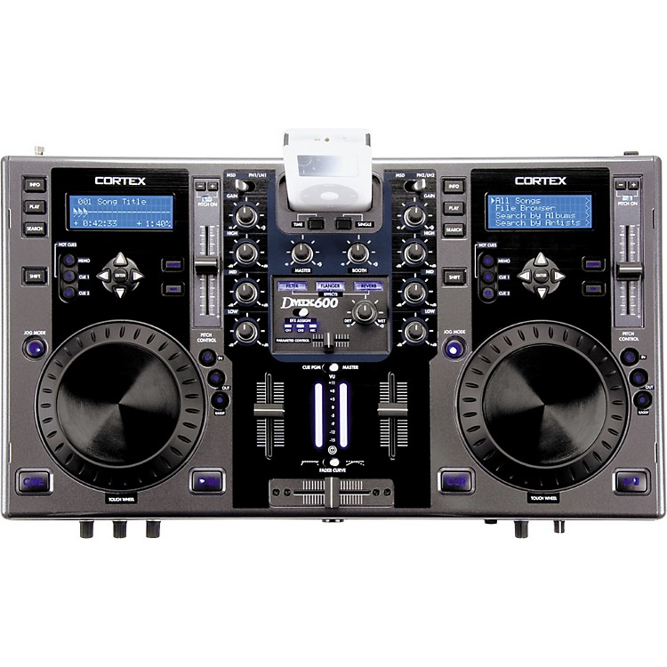 Gemini DMIX-600 Digital Music Control Station Grey