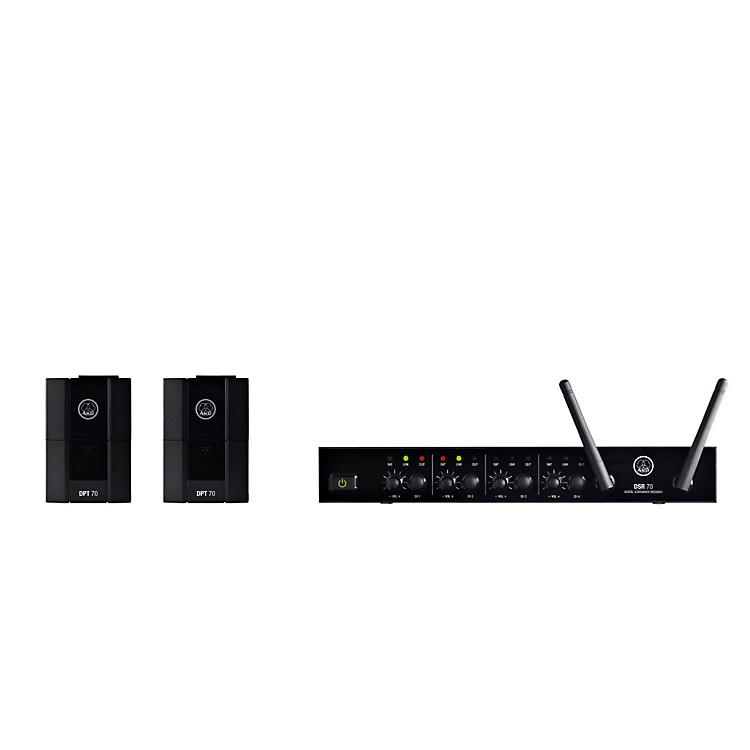 AKG DMS70 Quattro Digital Wireless System Instrument Set