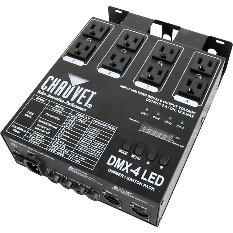 ChauvetDMX-4 LED Dimmer Switch Pack