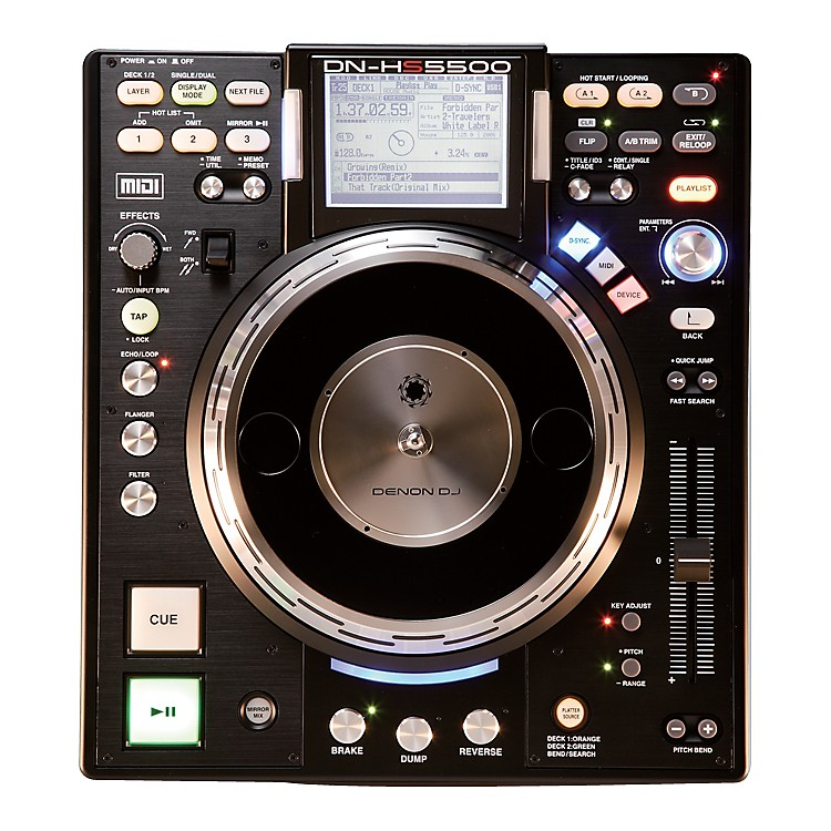 Denon DN-HS5500 Turntable Media Player & Controller