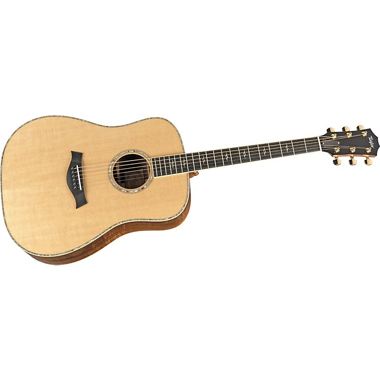Taylor DN-K-L Koa/Spruce Dreadnought Left-Handed Acoustic Guitar Natural