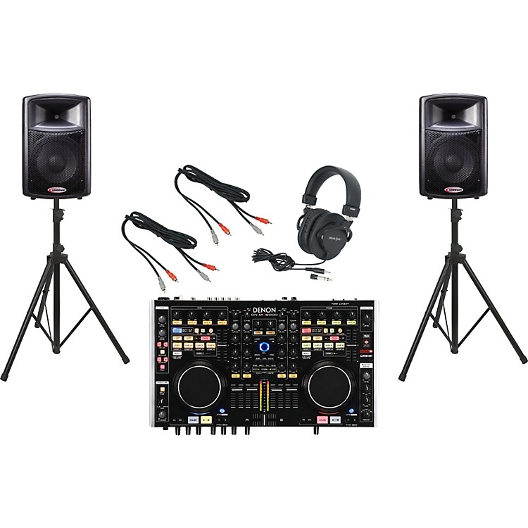 Denon DN-MC6000 / Harbinger APS12 DJ Package