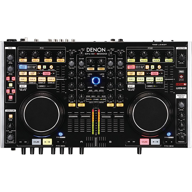 Denon DN-MC6000 Professional Digital Mixer & Controller