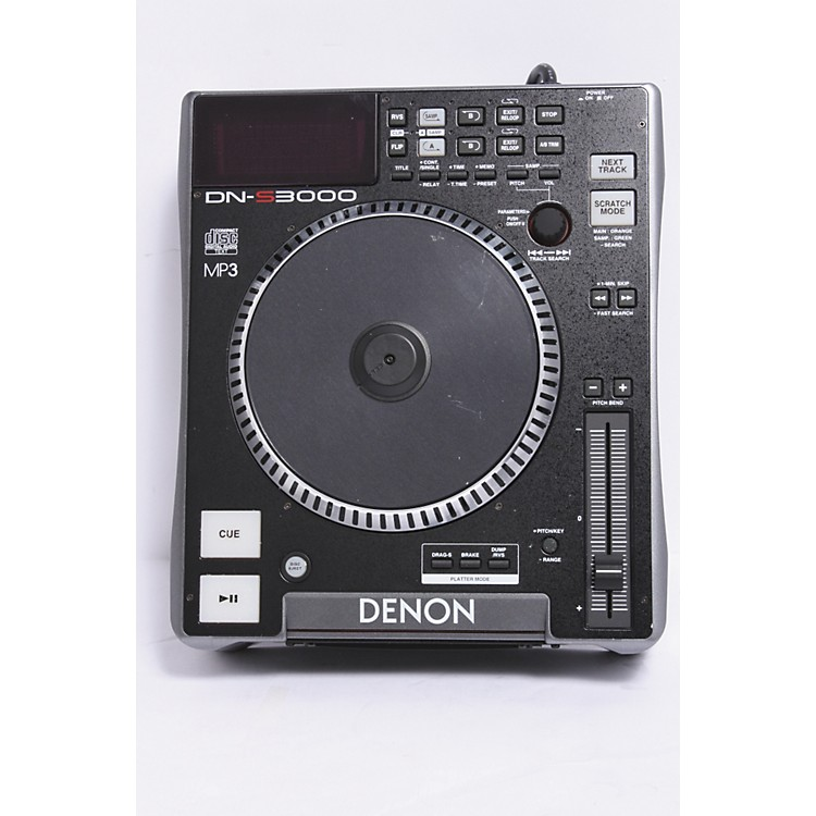 DenonDN-S3000 Table Top DJ CD Player889406951105