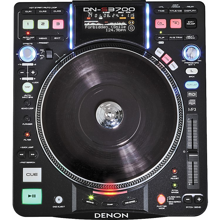 DenonDN-S3700 Digital Turntable Media Player and Controller