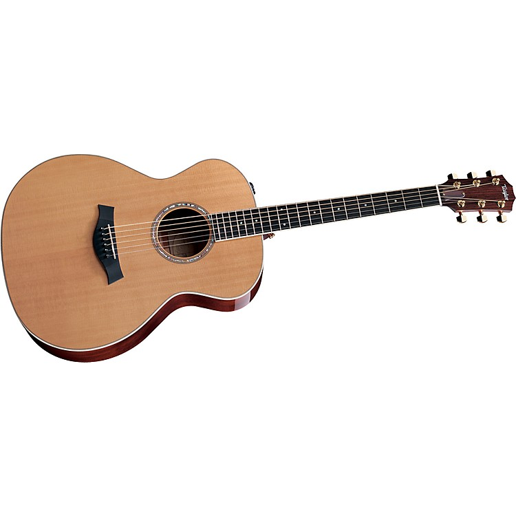TaylorDN8e-L Rosewood/Spruce Dreadnought Left-Handed Acoustic-Electric Guitar