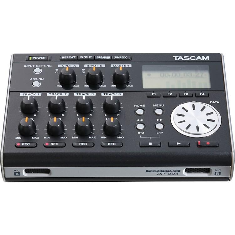 TascamDP-004 Portable 4-track Digital Multi-track Recorder