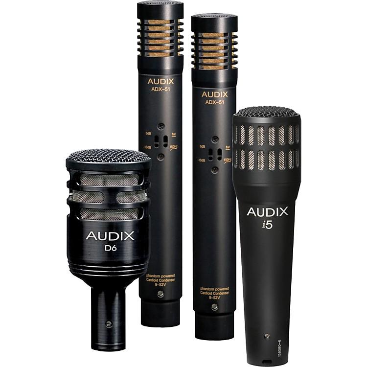 AudixDP-QUAD 4-Piece Drum Mic Pack