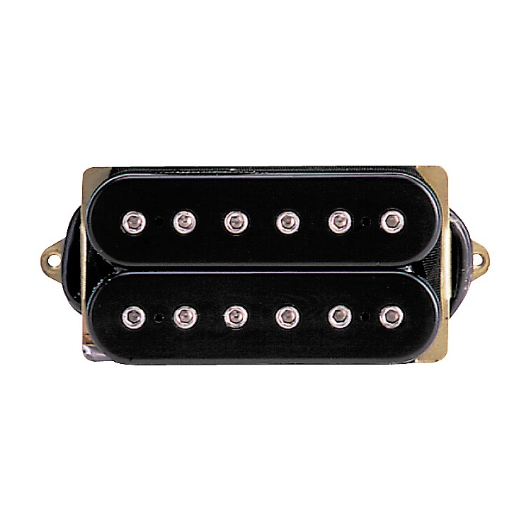 DiMarzio DP100 Super Distortion Pickup Black and Red Regular