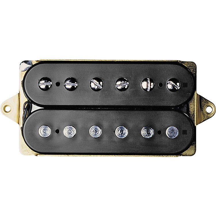 DiMarzio DP103 PAF Humbucker 36th Anniversary Electric Guitar Pickup with Vintage Bobbins Black Regular Spacing