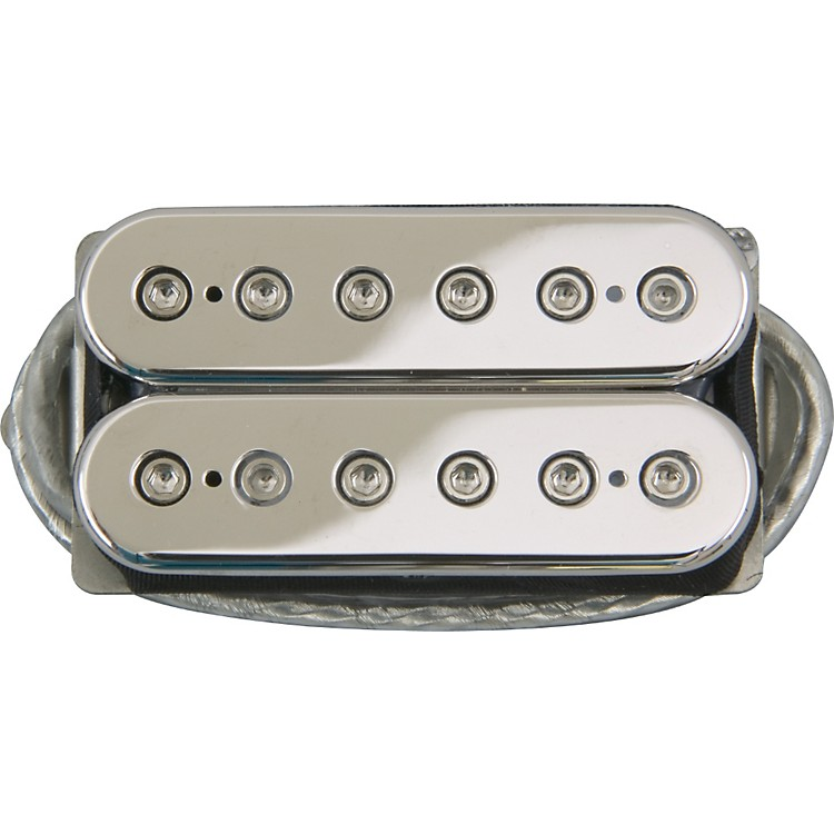 DiMarzio DP104 Super 2 Humbucker Pickup Chrome Top Regular Spaced