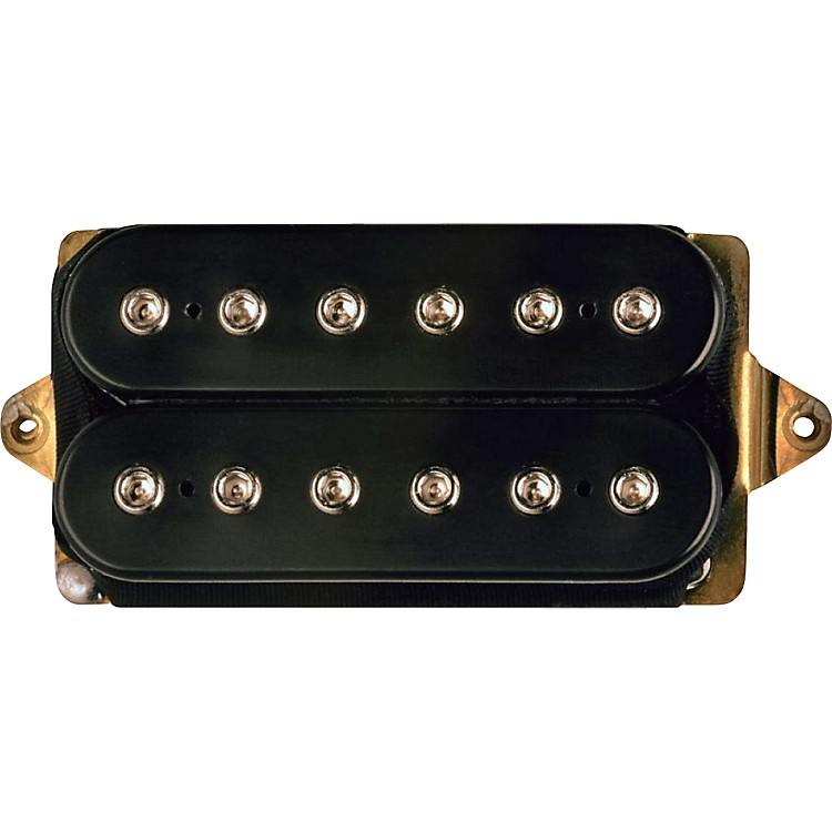 DiMarzio DP153 Fred Humbucker Pickup Black White Regular Spaced