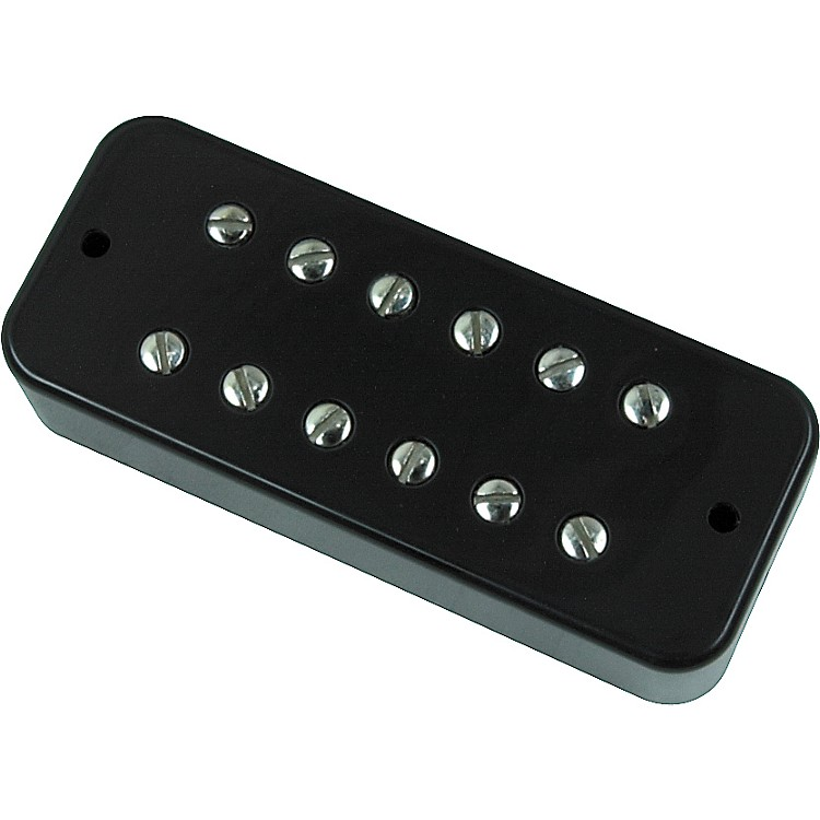 DiMarzio DP154 Deluxe Plus Bridge Soapbar Pickup Black