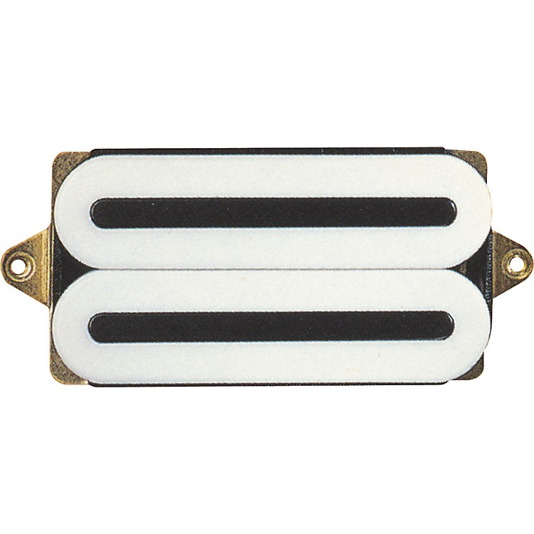 DiMarzio DP221 D Activator X Humbucker Neck Electric Guitar Pickup White Regular Spacing