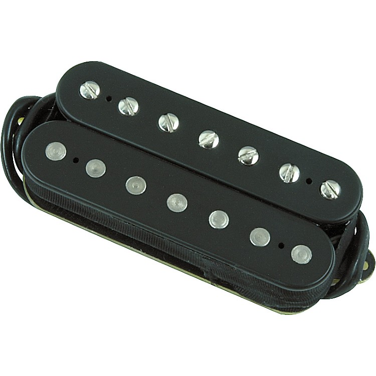 dimarzio dp759 paf 7 humbucker pickup for 7 string guitars black music123. Black Bedroom Furniture Sets. Home Design Ideas