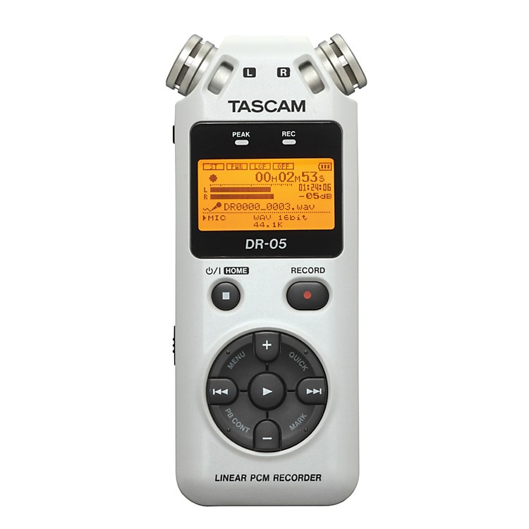 TASCAM DR-05W Limited Edition Solid State Recorder