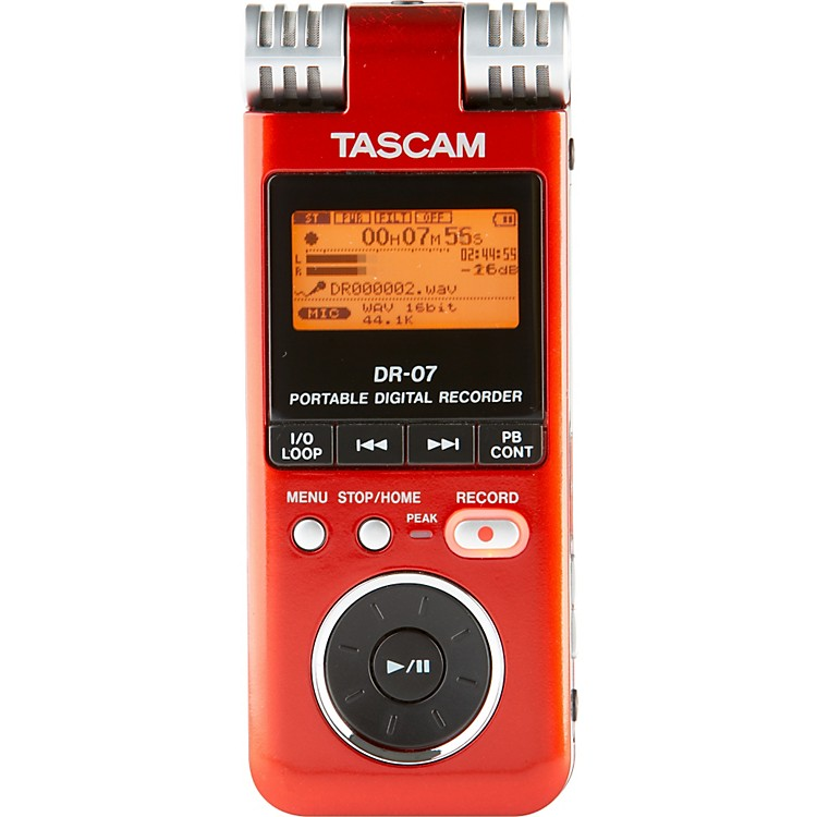 TASCAM DR-07 PORTABLE DIGITAL RECORDER