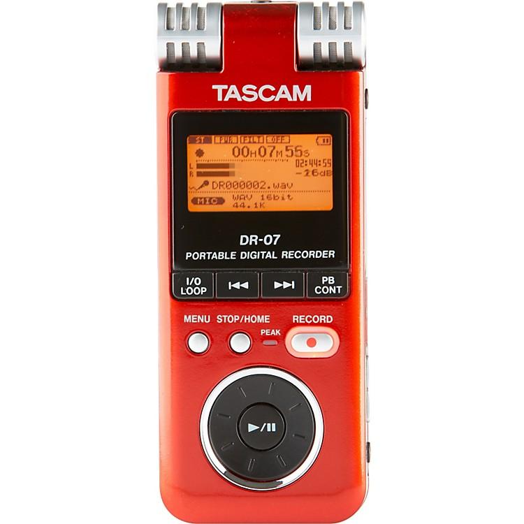 TASCAMDR-07 PORTABLE DIGITAL RECORDER