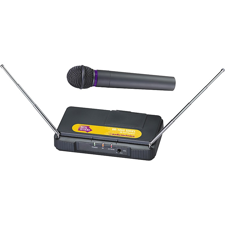 Digital ReferenceDR-1600 Dynamic Handheld Wireless Microphone System