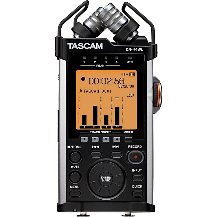 TascamDR-44WL Handheld Linear PCM Recorder