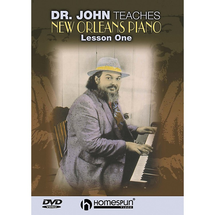 Homespun DR. John Teaches New Orleans Piano DVD 1