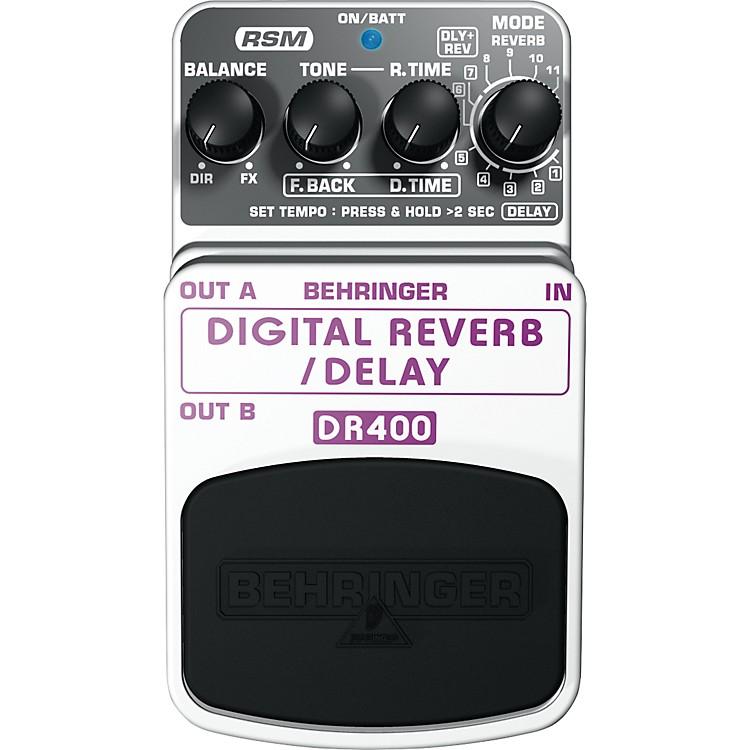 BehringerDR400 Digital Reverb/Delay Effects Pedal