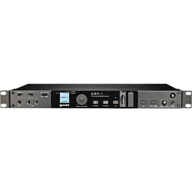 Gemini DRP-1 Rack Mount Digital Recorder
