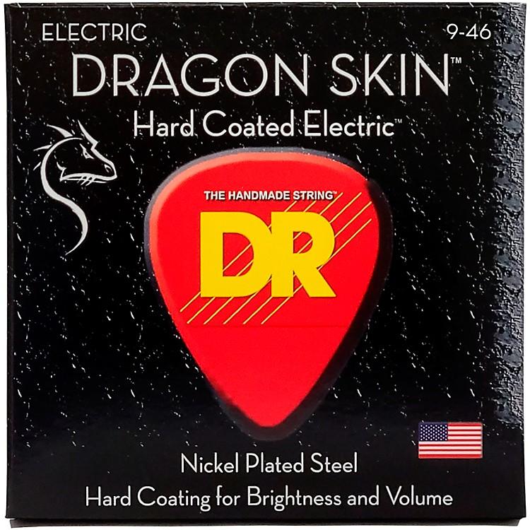 DR StringsDSE-9/46 Dragon Skin Coated Light-Medium Electric Guitar Strings