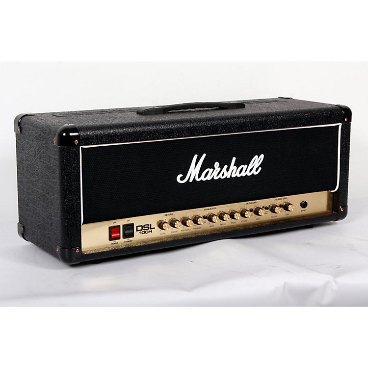 Marshall DSL100H 100W All-Tube Guitar Amp Head Black 888365776422