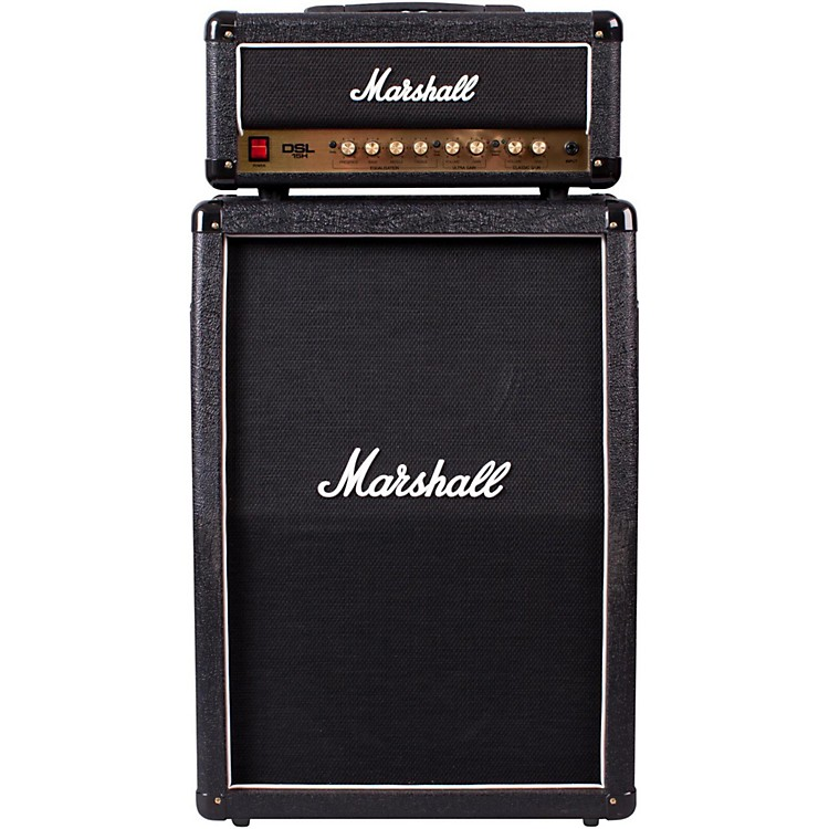 Marshall DSL15H 15W Head with MX212A Cab Black