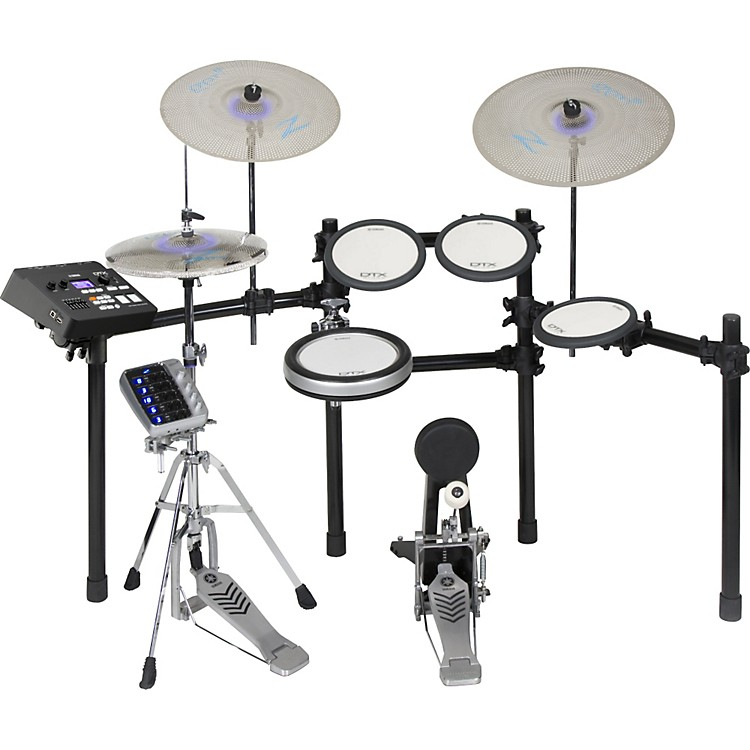 Yamaha DTX700SP Electronic Drum Shell Pack with Zildjian Gen 16 Cymbals