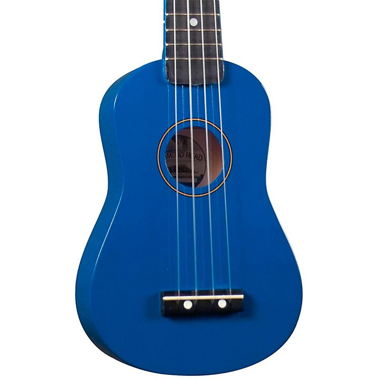 Diamond Head DU-10 Soprano Ukulele Blue Black Fingerboard