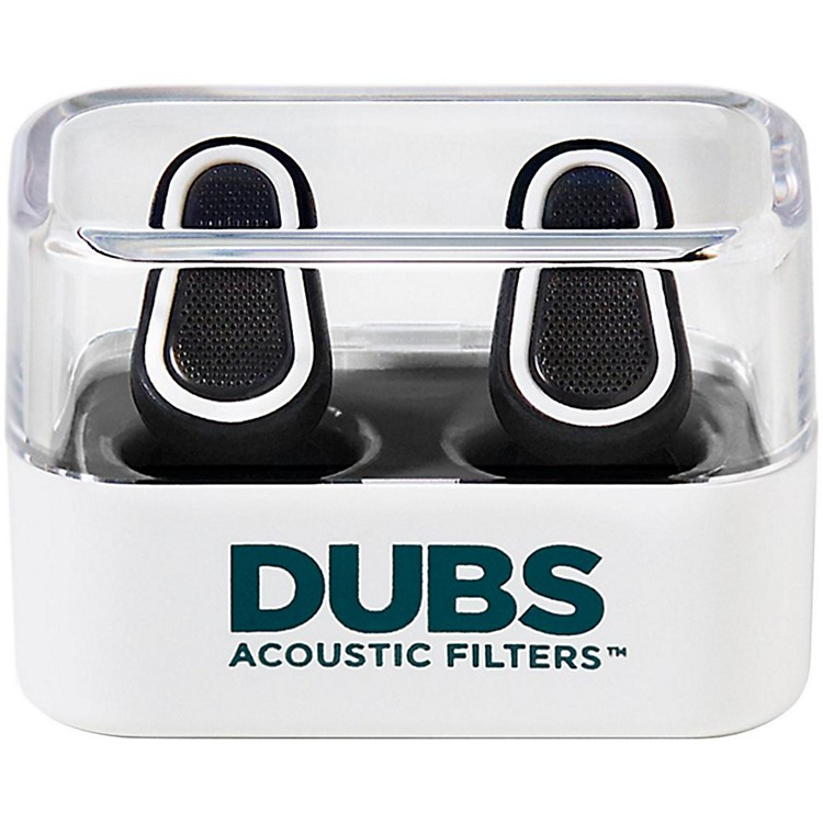 Doppler Labs DUBS Acoustic Filters Advanced Tech Earplugs White