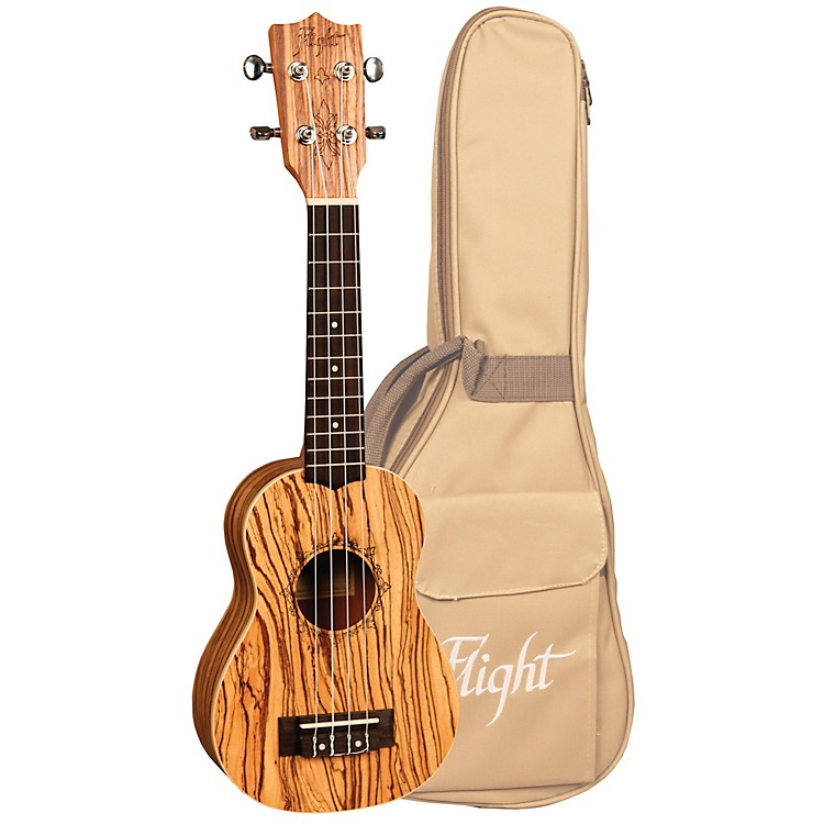 Flight DUS 322 Soprano Ukulele Natural