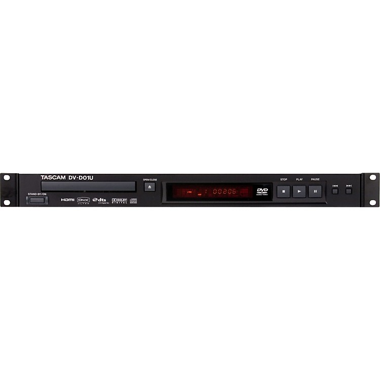 Tascam DV-D01U Rackmountable Single Disc DVD Player