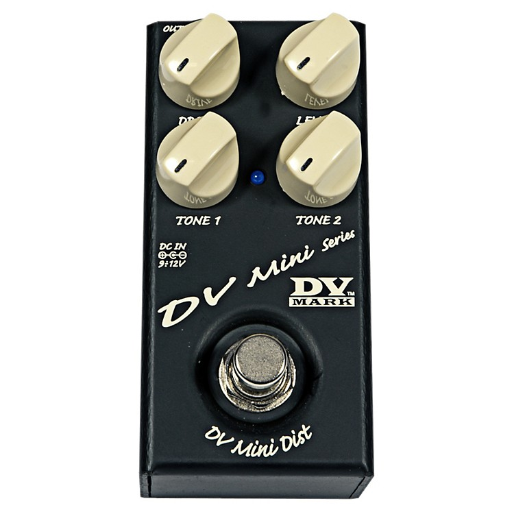Markbass DV Mini Distortion Compact Guitar Distortion Effects Pedal