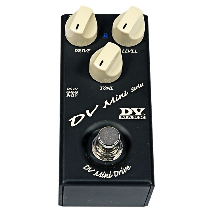 Markbass DV Mini Drive Compact Guitar Overdrive Effects Pedal